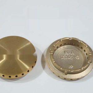 104197 РАССЕКАТЕЛЬ ПЛАМЕНИ ЛАТУННЫЙ D50 мм зам. 482000028378