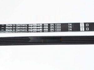 599950 РЕМЕНЬ ПРИВОДНОЙ 1233 J5 1175 мм OPTIBELT зам. 310711